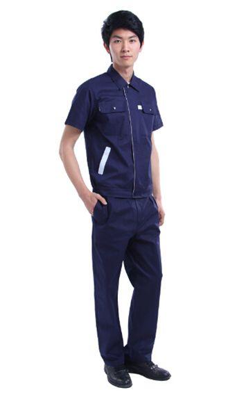 男士藏蓝色工服
